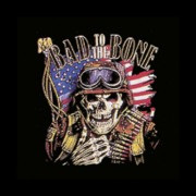 Farbiges Motiv: Bad to the Bone