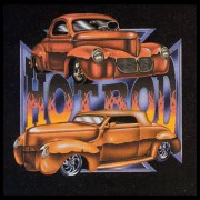 Farbiges Motiv: Hot Rod